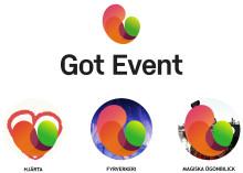 Magiska ögonblick när Got Event och Göteborgs arenor byter grafiskt formspråk och logotyp