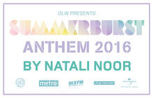 20-åriga Natali Noor producerar årets Summerburst Anthem 2016