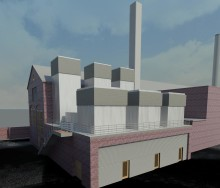 Works begins on new BAE Portsmouth power plant