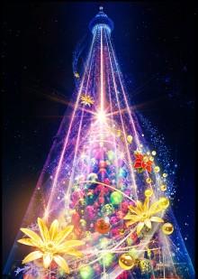 TOKYO SKYTREETOWNSM Dream Christmas 2018. Thursday, November 8 to Tuesday, December 25, 2018.