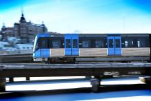 Iterio är med på (tunnelbane)tåget