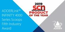 ADDERLink™ INFINITY 4000 Series Scoops Fifth Industry Award
