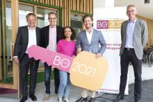 Tornstaden överlämnade nyckeln till första klara projektet i BoStad2021