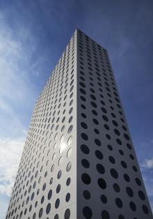 Solna stad hedrar eventhotellet Quality Hotel Friends för sin arkitektur