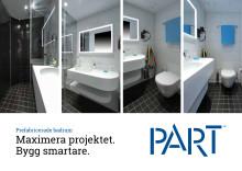 Part prefabricerade badrum (Svenska)