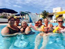Med 11 plejehjemsbeboere på ferie på Tenerife