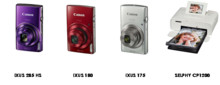 Canon lanserer nye IXUS-kameraer og ny kompakt SELPHY-fotoskriver