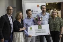Hällestadsvamp vinnare av Nyskaparstipendiet 2016
