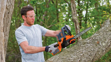 Power Through Woodcutting with New Cordless and Corded Chainsaws