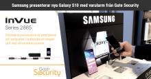 Samsung presenterar nya Galaxy S10 med varularm från Gate Security
