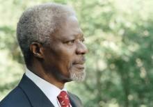 UNHCR:s chef Filippo Grandi om Kofi Annans bortgång