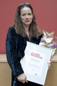 Randi Mossige-Norheim vinnare av Röda Korsets journalistpris 2014