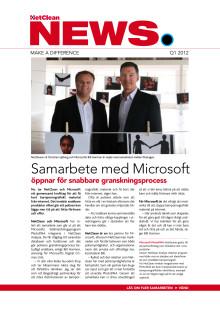 NetClean nyhetsbrev 2012 Q1