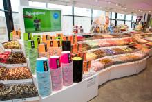 Hemmakväll förvandlar Kristianstads nya handelsplats C4 till ett godismecka