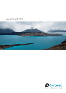 Cavotec Annual Report 2016
