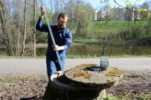 Nytt larmsystem skyddar Selångersån från oljeutsläpp