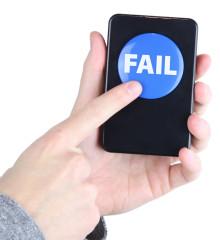 Fail-knapp