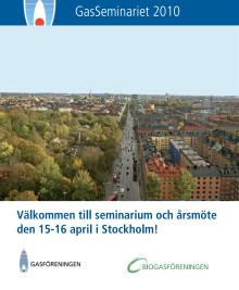 Program GasSeminariet 2010
