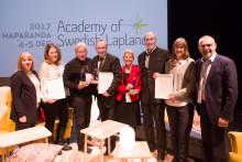 Skellefteå Airport, ICEHOTEL365, FlyCar Tyskland och Piteå Summer Games är 2017 års pristagare av The Award of Swedish Lapland