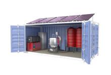 Kompakt reningsverk som kan lösa vattenbrist i behövande områden testas vid Ekeby
