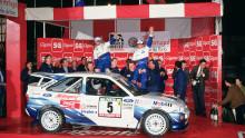 Időutazás - Az Escort RS Cosworth első WRC-győzelme