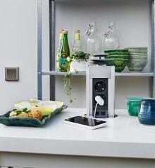 Smart och snygg elektronik i köket