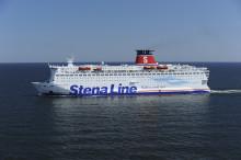 Brand ombord Stena Spirit