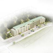 Pressmeddelande Scandinavian Property Group byggstartar 103 bostadsrätter i Vega, Haninge