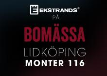 Ekstrands på Bomässa i Lidköping 7-9 oktober 2016
