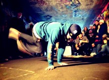 Hiphop och solidaritet på Frilagret