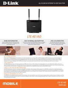 Produktblad - D-Link DWR-923 4G-router