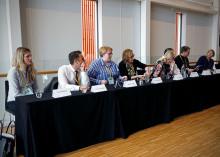 Presskonferens på Young Carers-konferensen