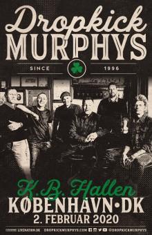 Dropkick Murphys kommer tilbage til Danmark / 2. februar i K.B. Hallen