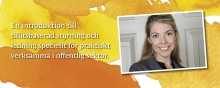 Louise Bringselius aktuell med bok om tillitsbaserad styrning