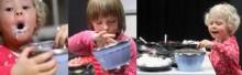 Jäätelökonekoe - kuinka malttamaton viisikko selviää haasteesta?