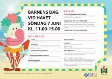 Program Barnens dag vid havet 2015