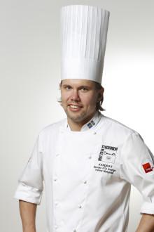 Tommy Myllymäki tävlar med öring i Bocuse d´Or, Kock-VM