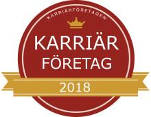 Kentor/Sopra Steria utnämnt till Karriärföretag 2018