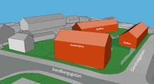 Nya bostäder i centrala Holmsund