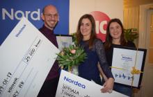 Deep Forestry och preVet vann Nordeas resestipendium 2019