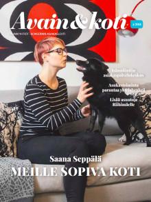 Avain & koti -lehti 4/2018 on ilmestynyt