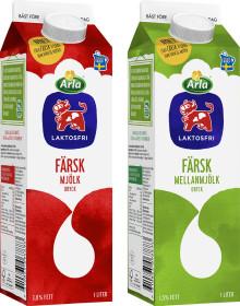 Arla lanserar färsk laktosfri mjölkdryck