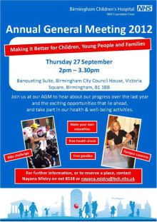 Birmingham Children's Hospital's Annual General Meeting
