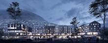 Invitasjon til pressemøte om nytt konferansehotell på Voss. Presentasjon av valgt hotelloperatør
