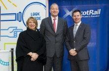 Faster, Longer, Greener 'train' unveiled at Edinburgh Waverley