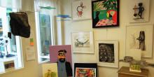 Barn i vårdmiljö får välja konst