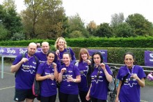 London cyclists pedal to a fundraising success for the Stroke Association