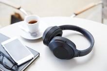 Sony lanserar MDR-1000X - trådlösa hörlurar med marknadens bästa brusreducering