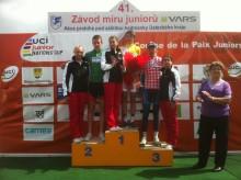 Fredrik Ludvigsson vann bergströjan i Världscupstävling