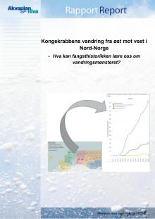 Kongekrabbens vandring Akvaplan-niva rapport nr 7805-2 (2019)